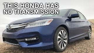 this honda has no transmission