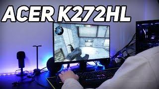 Монитор Acer K272HL // Большой и дешевый // Комп-клуб