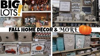 BIG LOTS * FALL DECOR AND MORE!!! JULY 24TH 2019