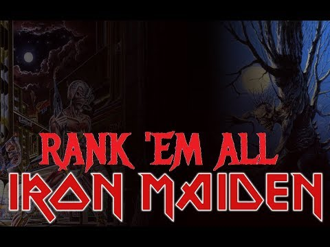 Rank 'Em All: IRON MAIDEN ALBUMS