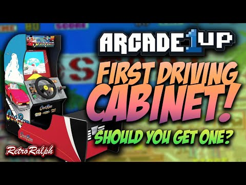 Arcade1Up Outrun Racing Cabinet SOLD OUT but is it any good?!? from Retro Ralph