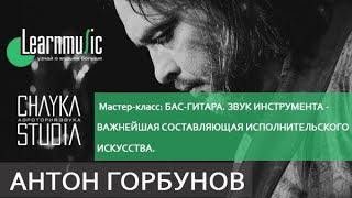 """Антон Горбунов """"Бас-гитара. Звук инструмента - важнейшая составляющая исполнительского искусства."""""""