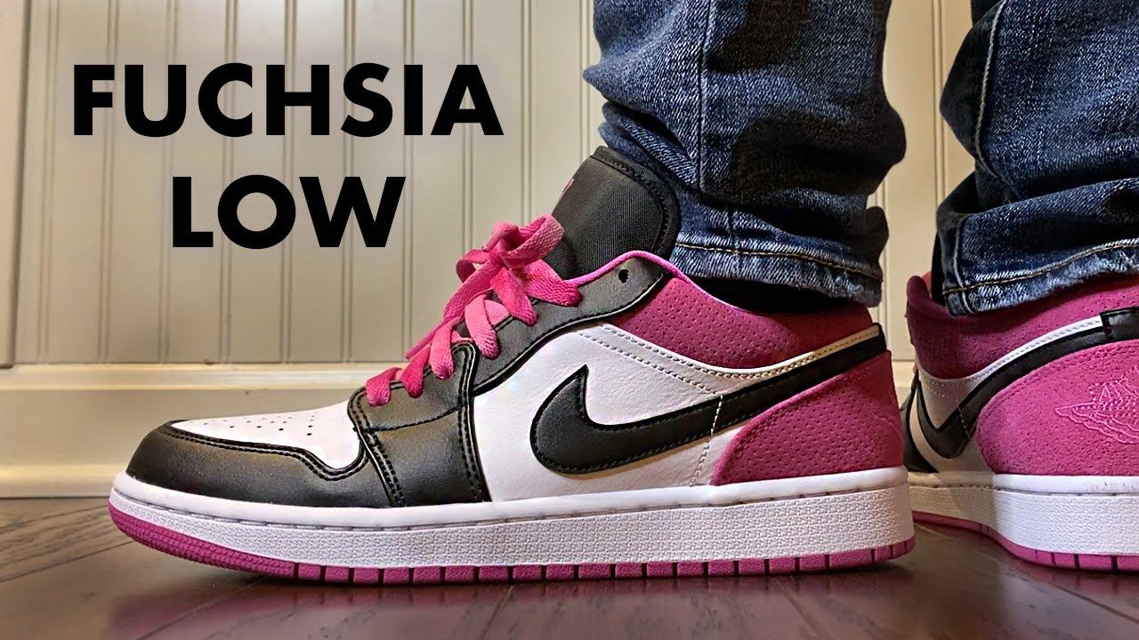 Jordan 1 Low Se Fuchsia Review And On Feet Youtube