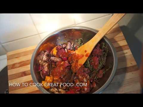 Jamaican Spicy Pork & Butter Beans (lima) Recipe