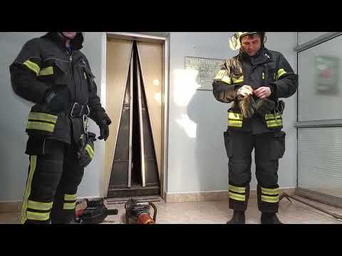 Спасение ребенка из лифта, Москва