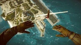 [Battlefield 4] Test Range under the map glitch