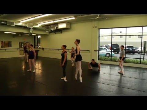 Ballet Pointe Class Live Stream