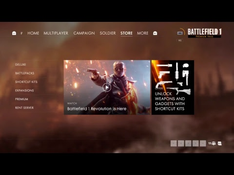 BATTLEFIELD 1 - REVOLUTION DLC - THE BF VETERAN- PS4 PRO - BOOST MODE - LIVE - 60fps