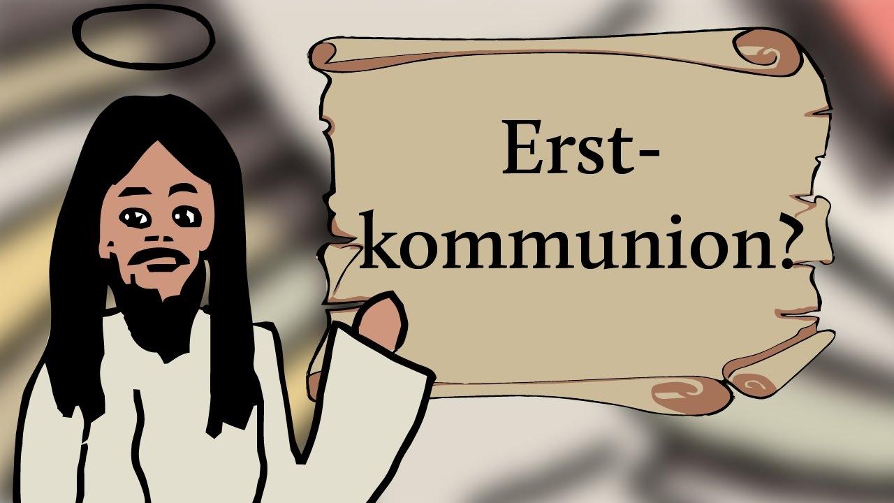 Heilige kommunion erste schreibt man wie Erstkommunion