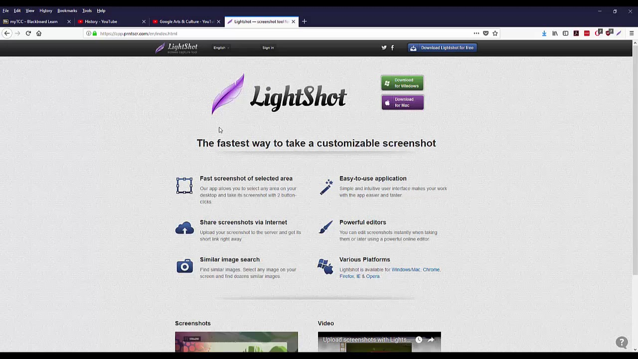 LightShot App: Download and Use - YouTube
