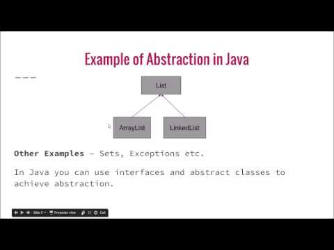 What is Abstraction