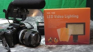 HD-160 160 LED Light Panel Review