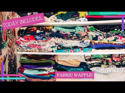 Daily Waffle 2020 :: Day 649 :: Mini Fabric Haul 😍