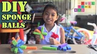 DIY Sponge Balls | Full-Time Kid | PBS Parents