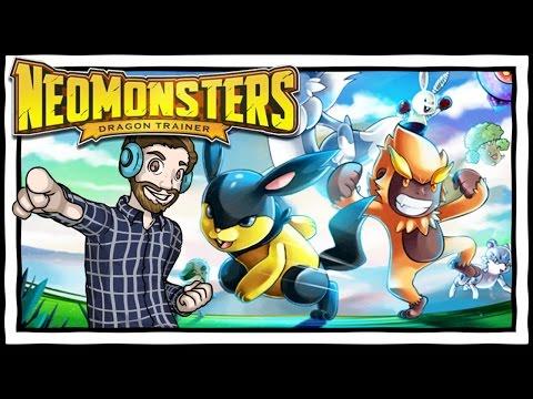 POKEMON FOR iOS?! Neo Monsters App Gameplay