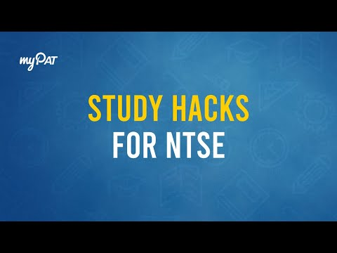 Last Minute Study Hacks for NTSE | 4:00 PM Nov 1st '17