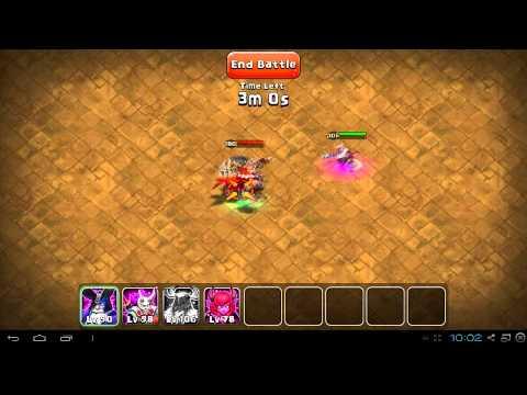 Castle Clash Boss Fight 4 Heroes