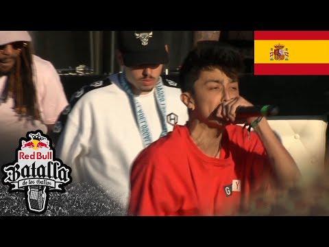 SANTI vs MARK - Octavos: Sevilla, España 2018 | Red Bull Batalla De Los Gallos