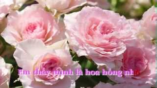 Em là Bông Hồng Nhỏ - Trịnh Công Sơn / Karaoke by Tran Minh Duc