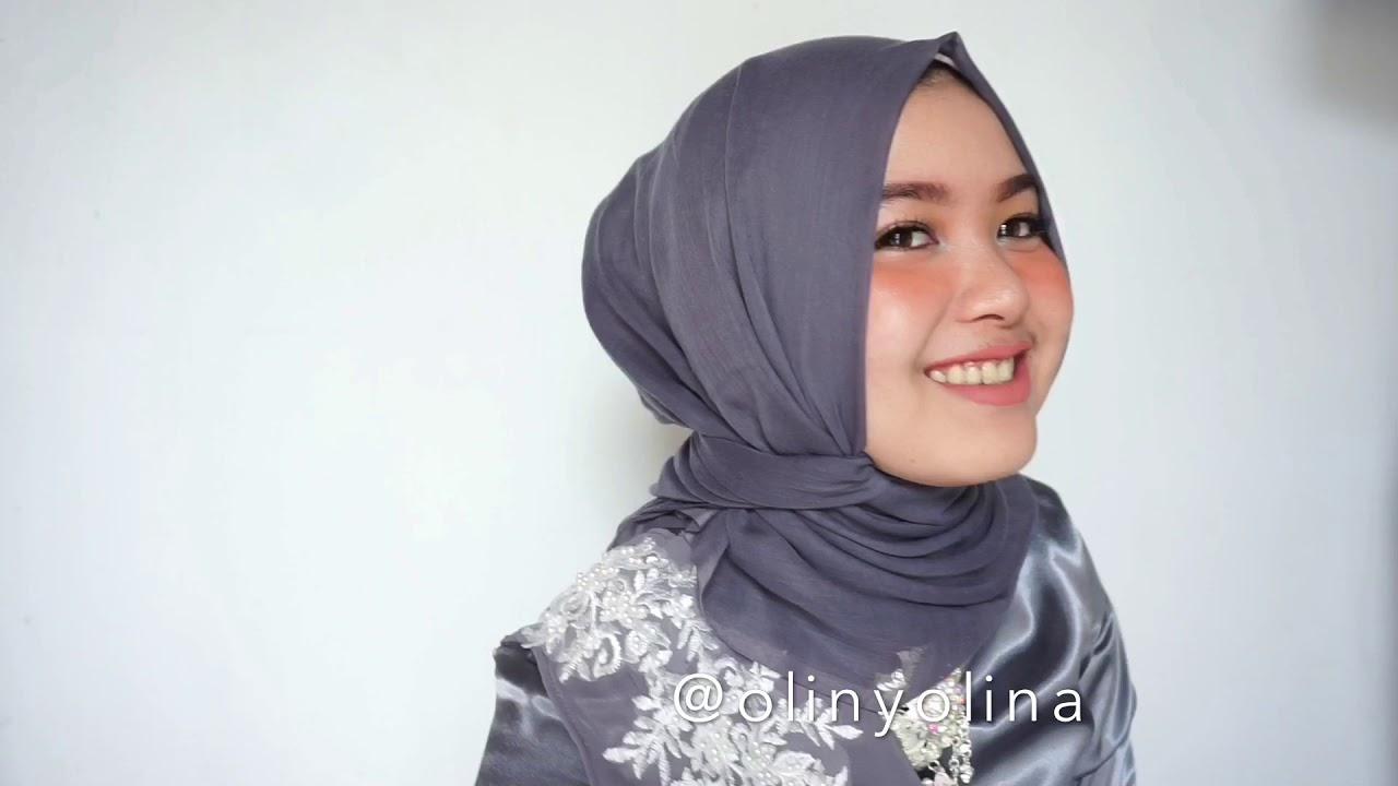 30 Tutorial Hijab Segi Empat Wisuda Pesta Kondangan Simple By Olinyolina Youtube