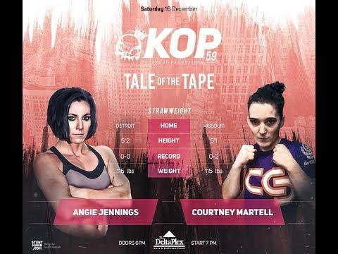 kop 59 Angela Jennings vs Courtney Martell
