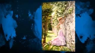 Модные цветные свадебные платья 2014