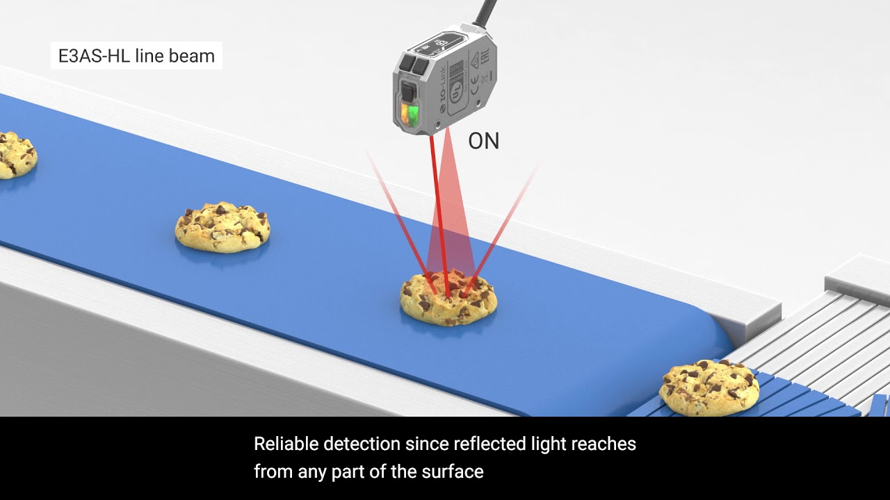 Omron E3AS Photoelectric Sensors | Easy selection for any application