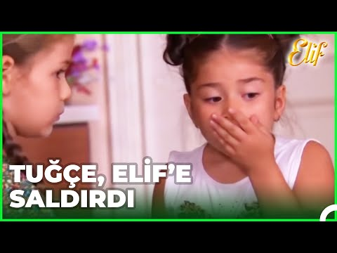 Tuğçe, Elif'e Saldırdı - Elif Dizisi 15. Bölüm