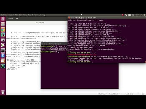 How to deploy Django on AWS | Django web framework  | Machine learning