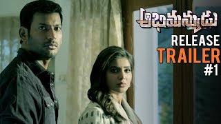 Abhimanyudu Release Trailer #1 | Vishal | Samantha | TFPC