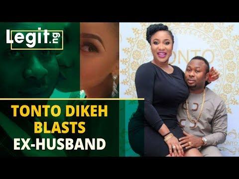 Should Tonto Dikeh have blasted her ex-husband online? Nigerians react   Legit TV