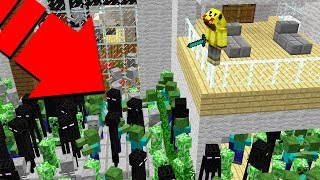 EVİMDE CANAVAR KIYAMETİ! 😱 - Minecraft