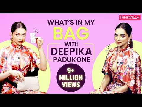 What's in my bag with Deepika Padukone| Fashion| Bollywood| Pinkvilla| Deepveer