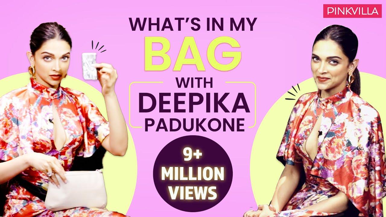 What's in my bag with Deepika Padukone| Fashion| Bollywood| Pinkvilla| Deepveer #1