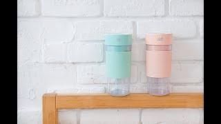 奧地利 Doc Green 輕享杯 業界最高規格隨行果汁機 - 與它牌比較,輕享杯更細緻!