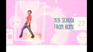 SCHOOL FROM HOME   Baccha Baccha jaanta hai   Online schooling wala Gaana   Kids Masti Song