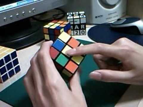 Rubik's cube 魔術方塊LBL教學01