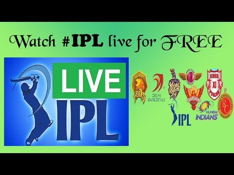 How To Watch IPL 2016 Live For Free | No Ads | No Lags