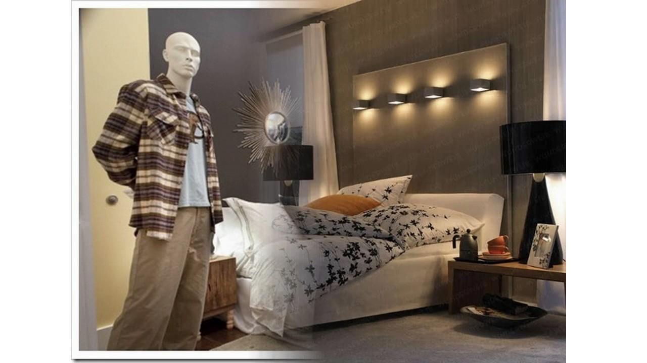 Ideas de decoraci n de dormitorio para hombre youtube for Decoracion de cuartos para hombres