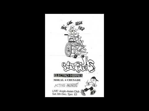 The Stupids (UK) live @ Anglo Asian club, Newcastle.UK.6th December 1986  (full audio)
