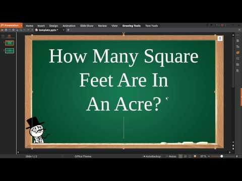 How Many Square Feet Are In An Acre