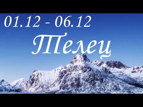 Прогноз на неделю с 1 по 6 декабря для представителей знака зодиака Телец