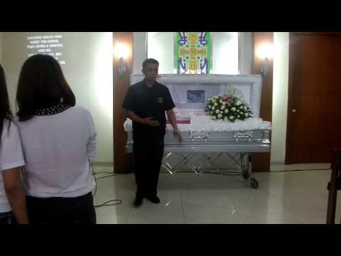CHE ARRIVAL FOR CREMATION @ HOLY CROSS CHAPEL - NOVALICHES CITY