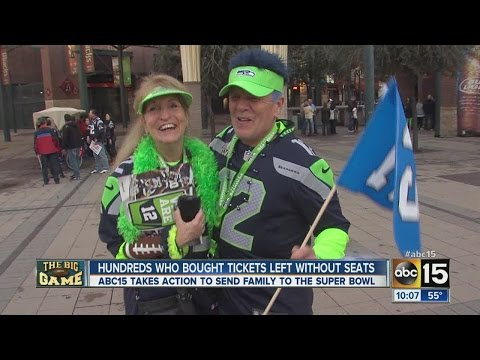 Woman Gives Away Super Bowl Tickets To Strangers