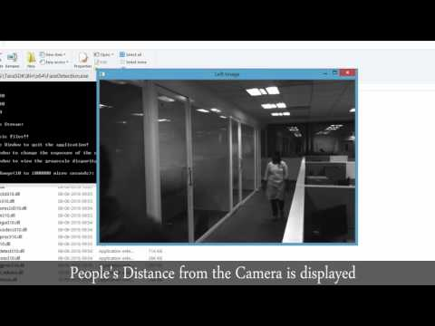 People distance measurement with Tara - Stereo camera