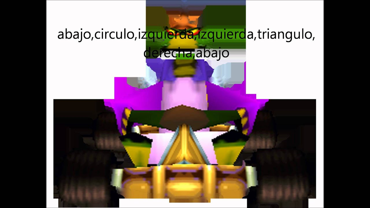 claves de los personajes de crash team racing - YouTube