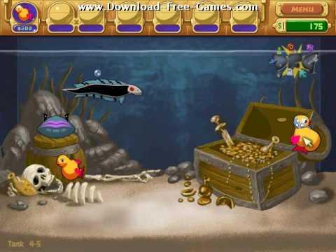 Insaniquarium Deluxe Gameplay Trailer - Download Free Games