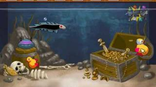 Insaniquarium Deluxe Gameplay Trailer - Download Free Games