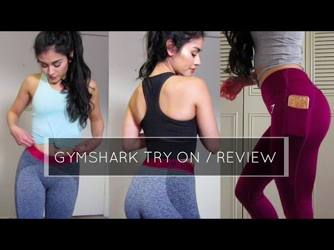 Gymshark Try on and Review