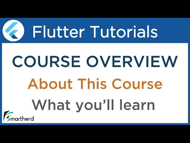 #0 Flutter Tutorial for Beginners with Dart: Develop Android and iOS Apps [ FREE COURSE ]